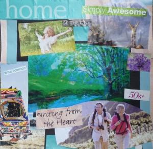 Lisa's Gratitude Vision Board 2014